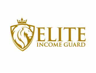 Elite Income Guard logo design