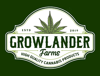 Growlander Farm logo design