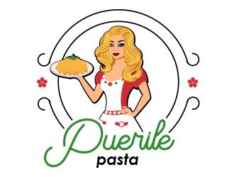 Puerile Pasta logo design by BeDesign