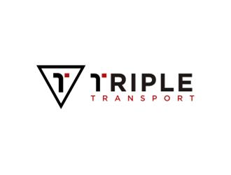 Triple Transport logo design