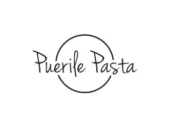 Puerile Pasta logo design by superiors