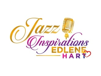 Edlene Hart-Jazz Inspirations logo design
