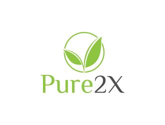 Pure2X logo design winner
