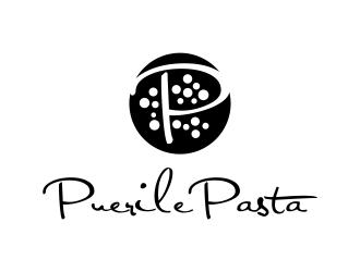 Puerile Pasta logo design by BlessedArt