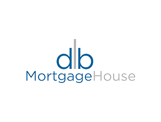 db MortgageHouse logo design