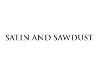 Satin and Sawdust logo design by dewipadi