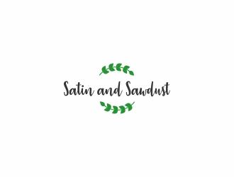 Satin and Sawdust logo design by CreativeKiller