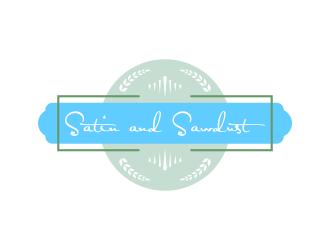 Satin and Sawdust logo design by ROSHTEIN