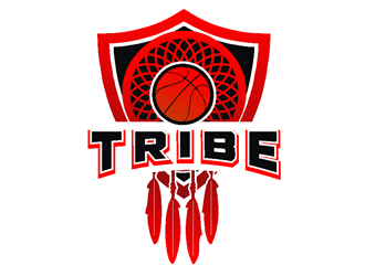 TRIBE logo design by coco