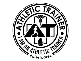 ATHLETIC TRAINER logo design