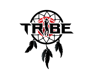 TRIBE logo design