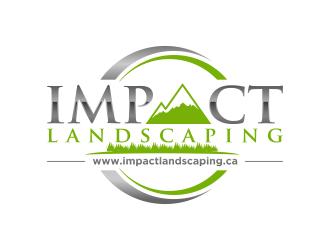 Impact Landscaping Logo Design 48hourslogo Com