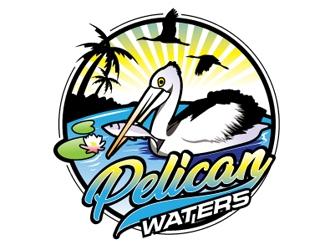Pelican Waters logo design