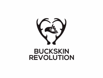 Buckskin Revolution  logo design
