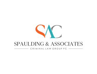 Spaulding & Associates Criminal Law Group logo design