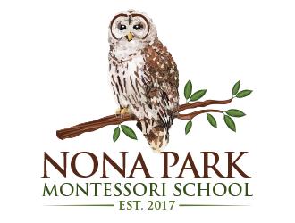 Nona Park Montessori School logo design winner
