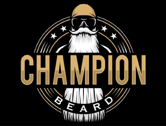 Champion Beard  logo design