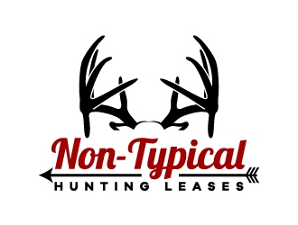 Non-Typical Hunting Leases logo design