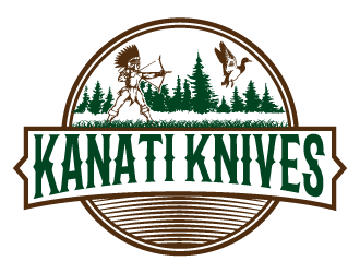 Kanati Knives Logo Design