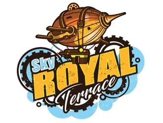 Sky Royal Terrace logo design