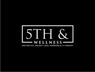 5th & Wellness logo design