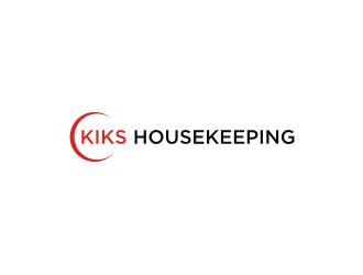 Kiks Housekeeping logo design by Dian..cox