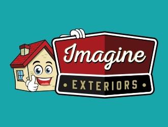 Imagine Exteriors   logo design