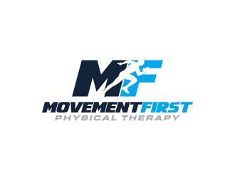 Movement First Physical Therapy logo design
