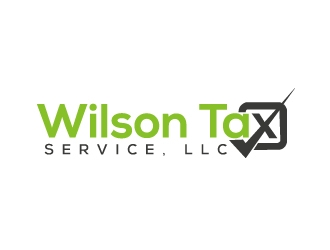 Wilson Tax Service, LLC logo design