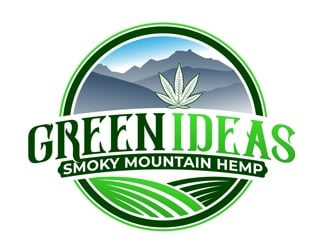Green Ideas logo design