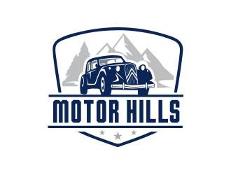 Motor Hills  logo design