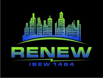 RENEW 1464 logo design