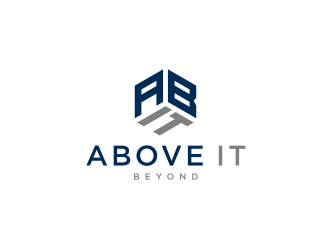 Above IT Beyond logo design