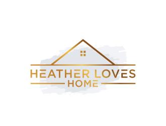 Heather Loves Home logo design by BlessedArt