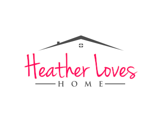 Heather Loves Home logo design by Purwoko21