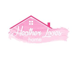 Heather Loves Home logo design by Anizonestudio
