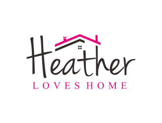 Heather Loves Home logo design by ammad