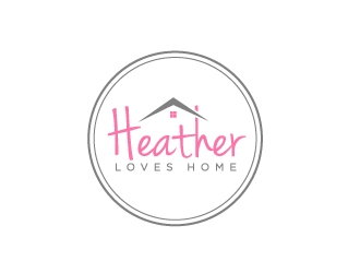 Heather Loves Home logo design by labo
