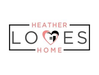 Heather Loves Home logo design by cikiyunn