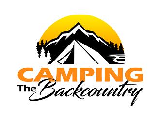 Camping the Backcountry logo design
