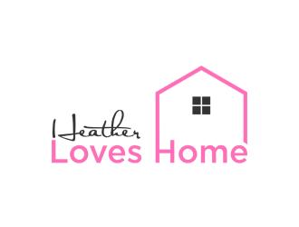 Heather Loves Home logo design by peundeuyArt
