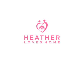 Heather Loves Home logo design by kaylee