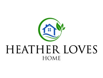 Heather Loves Home logo design by jetzu