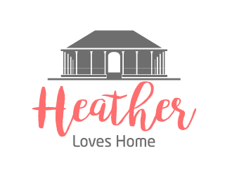 Heather Loves Home logo design by Ultimatum
