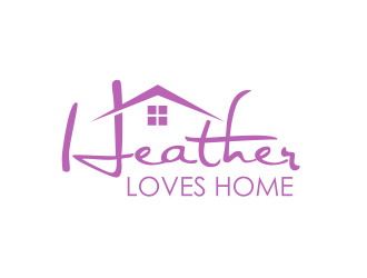 Heather Loves Home logo design by serprimero