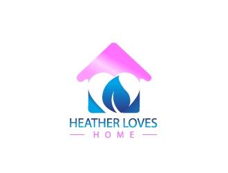 Heather Loves Home logo design by samuraiXcreations