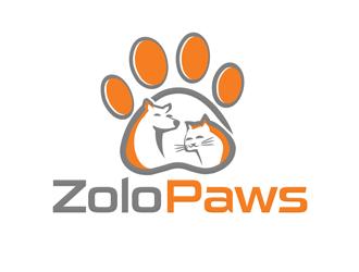 ZoloPaws logo design