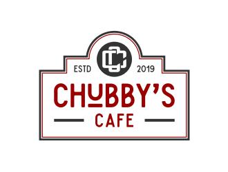 Chubbys Cafe logo design