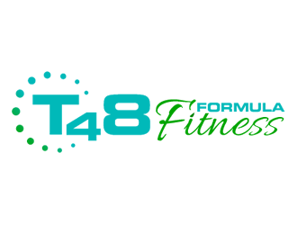 T48 Formula Fitness Logo Design