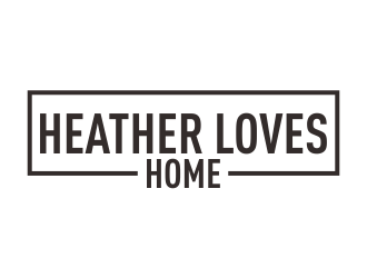 Heather Loves Home logo design by Greenlight